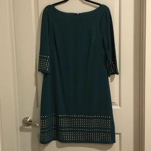 Jessica Howard Hunter Green Dress Size 12